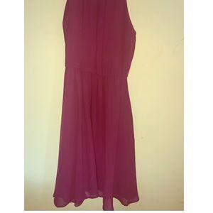 Francesca's sleeveless cinch waist dress